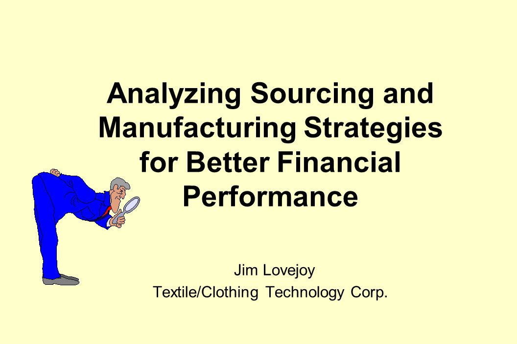 Research Agenda  Compare Sourcing Strategies  Evaluate impact of Manufacturing Lead-time  Investigate the Impact of Forecast Error  Investigate the Impact of Collaboration  Identify top ten financial levers (other than price)