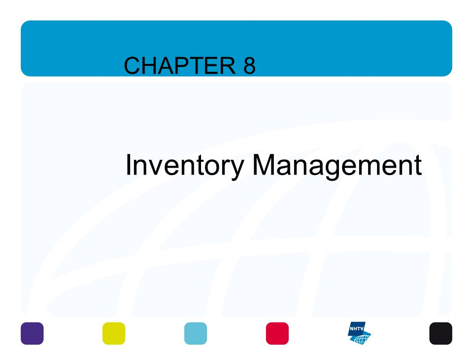 Learning Objectives To understand the costs of holding inventory To understand reordering concepts To differentiate the various inventory flow patterns 6 - 3