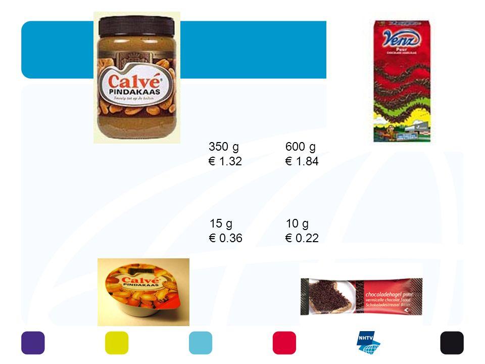 10 g € 0.22 15 g € 0.36 600 g € 1.84 350 g € 1.32