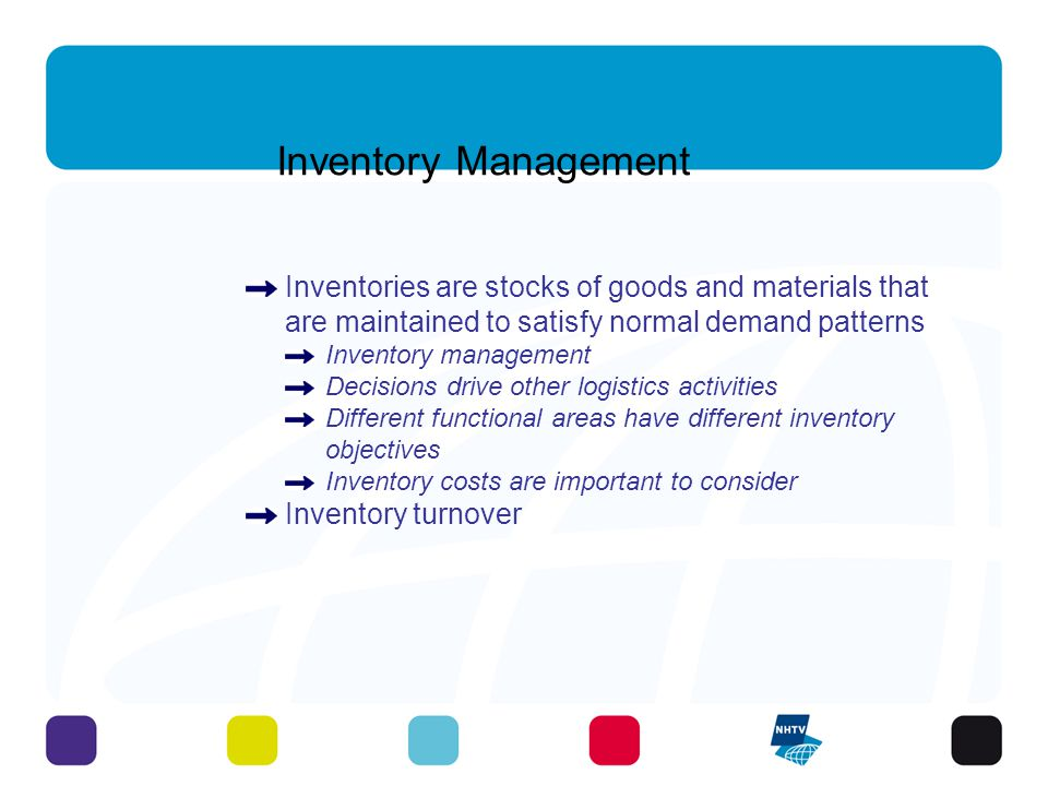 Inventory Management Inventory management (continued) Inventory costs are important to consider Inventory turnover: cost of goods sold divided by average inventory at cost cost of goods sold = inventory turnover average inventory $200,000 = inventory is sold 4 times per year $ 50,000 Compare with competitors or benchmarked companies 10 - 3