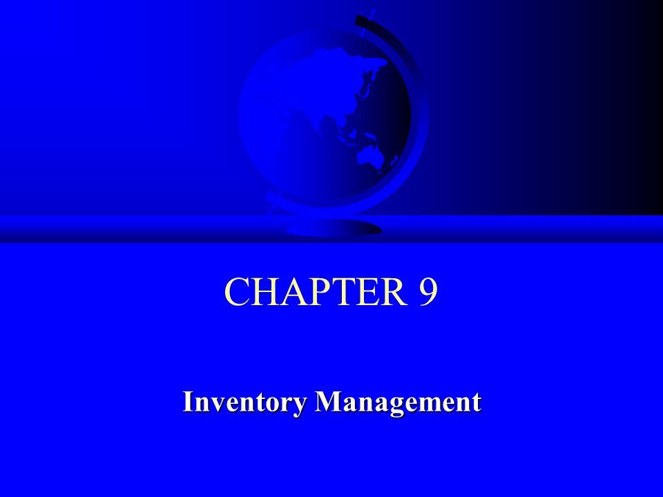 © 2008 Prentice Hall 9-12 Inventory-Related Costs F Trade-offs exist between carrying and stockout costs –Marginal analysis