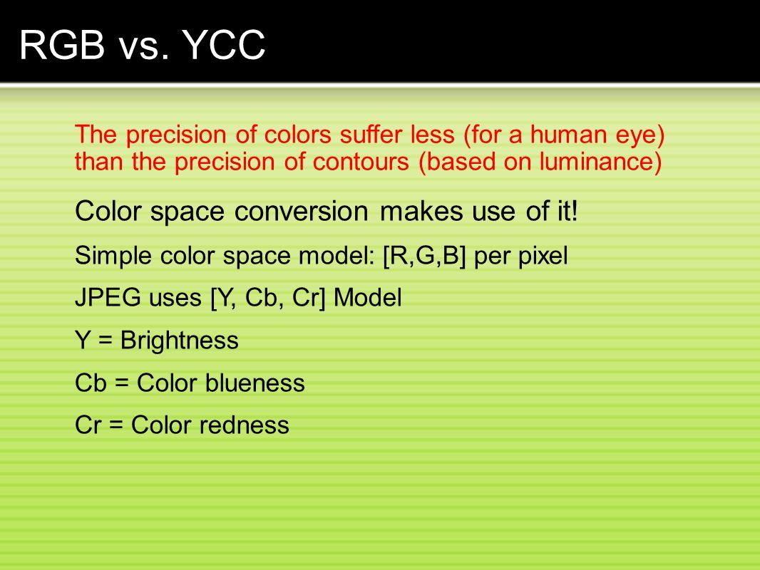 RGB vs.