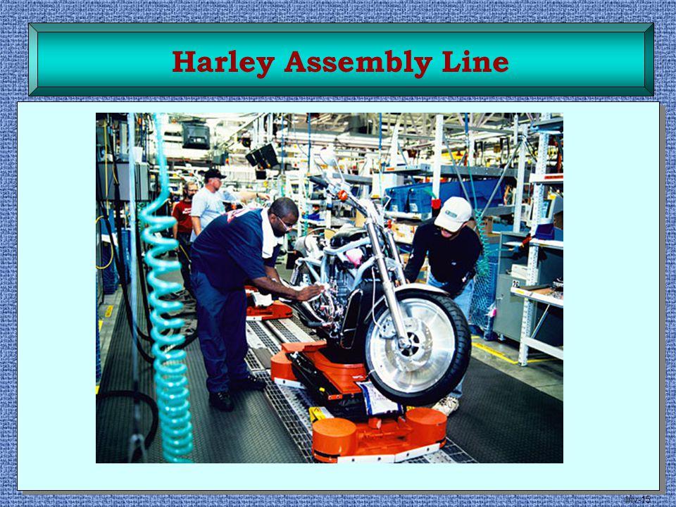 Inv-15 Harley Assembly Line