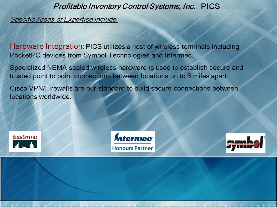 Profitable Inventory Control Systems, Inc.