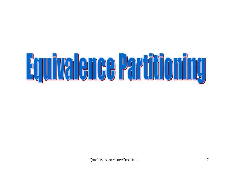 Quality Assurance Institute7