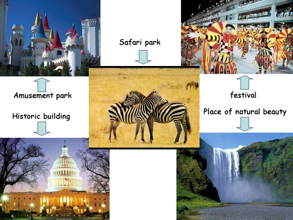 Place of natural beauty Historic building Amusement park Safari park festival
