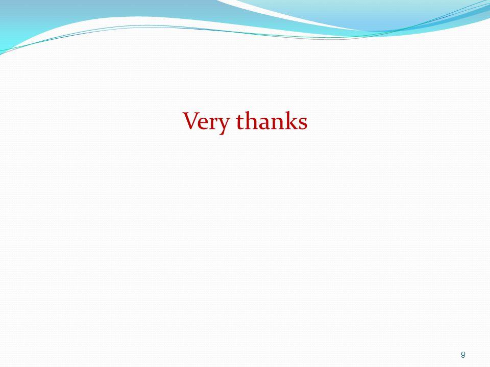 Very thanks 9