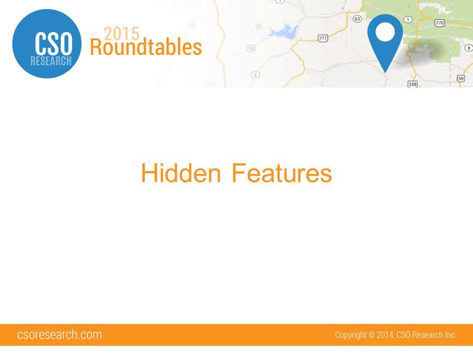 Hidden Features