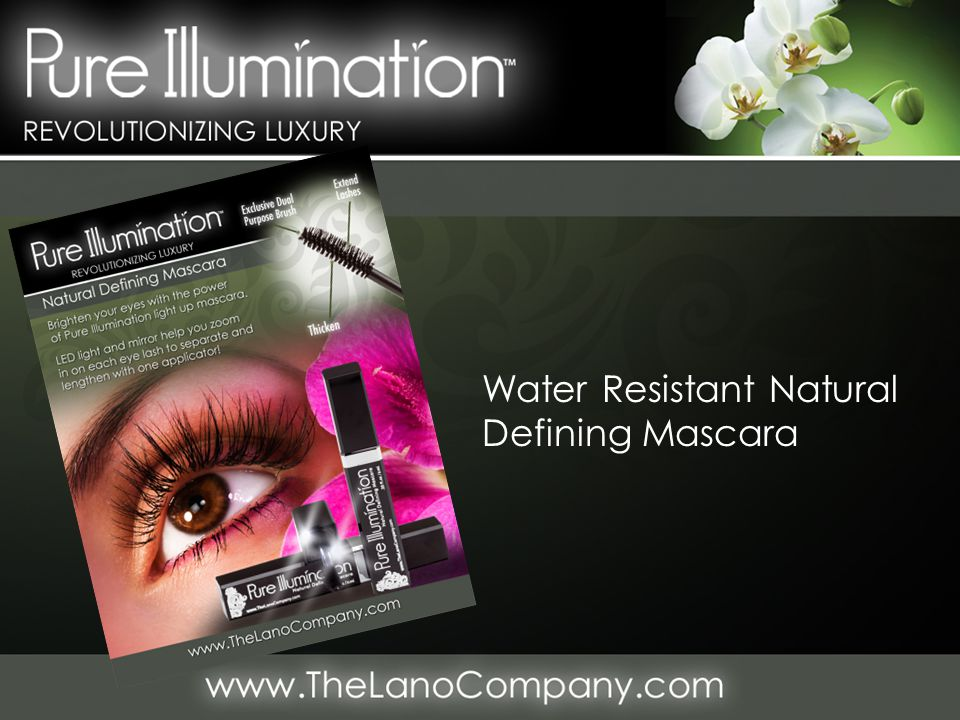 Water Resistant Natural Defining Mascara