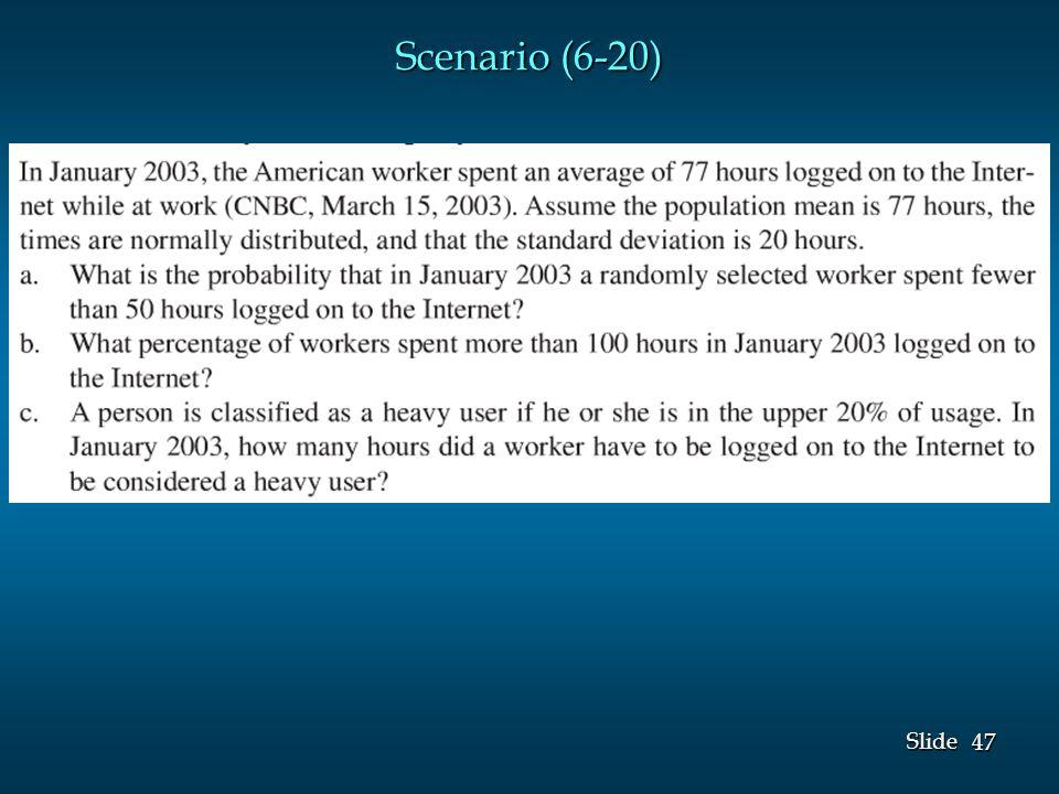 47 Slide Scenario (6-20)