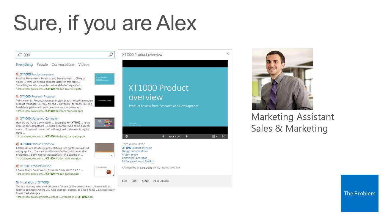 Marketing Assistant Sales & Marketing
