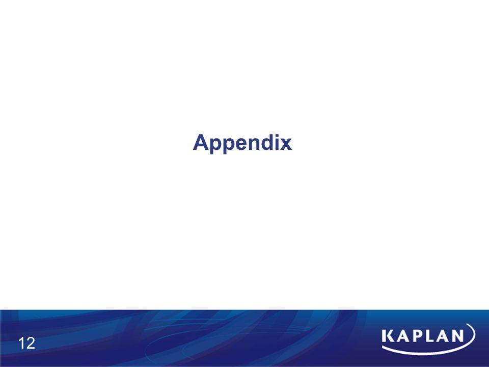Appendix 12