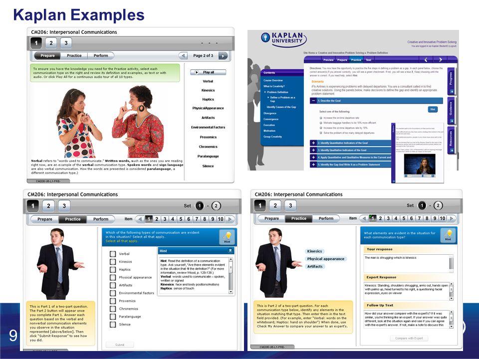 Kaplan Examples 9