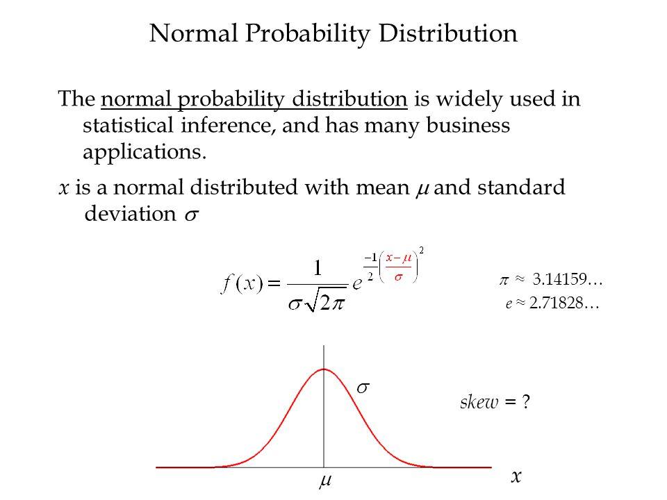 Standard Normal Probability Distribution  = 1 z -2.76 0 .