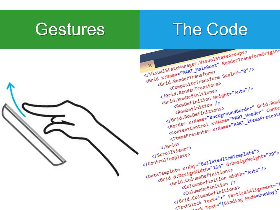 Gestures The Code