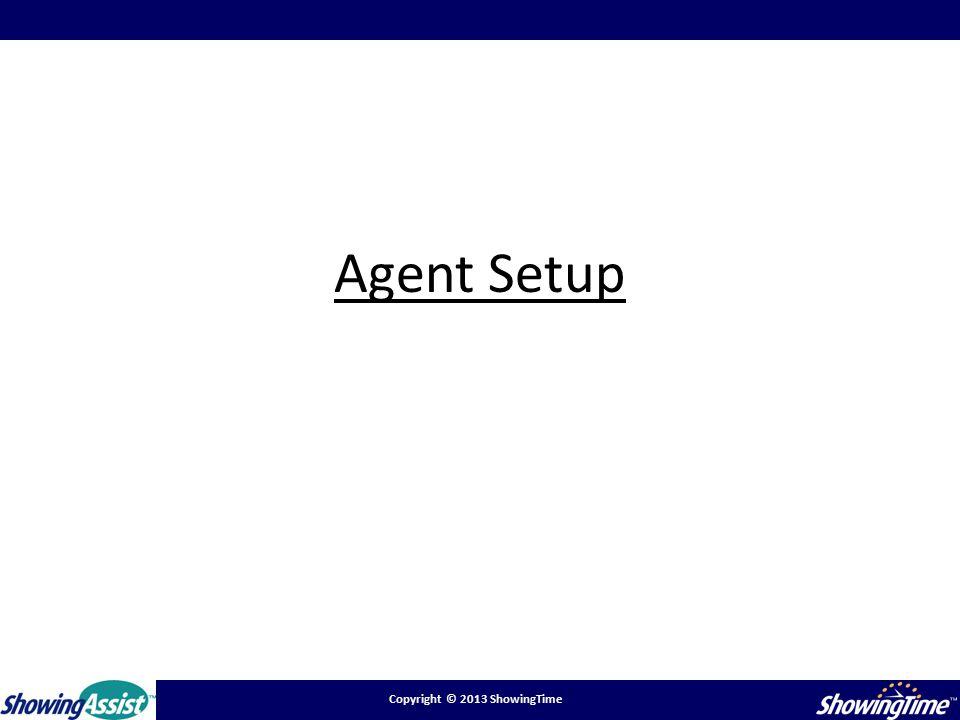 Agent Setup
