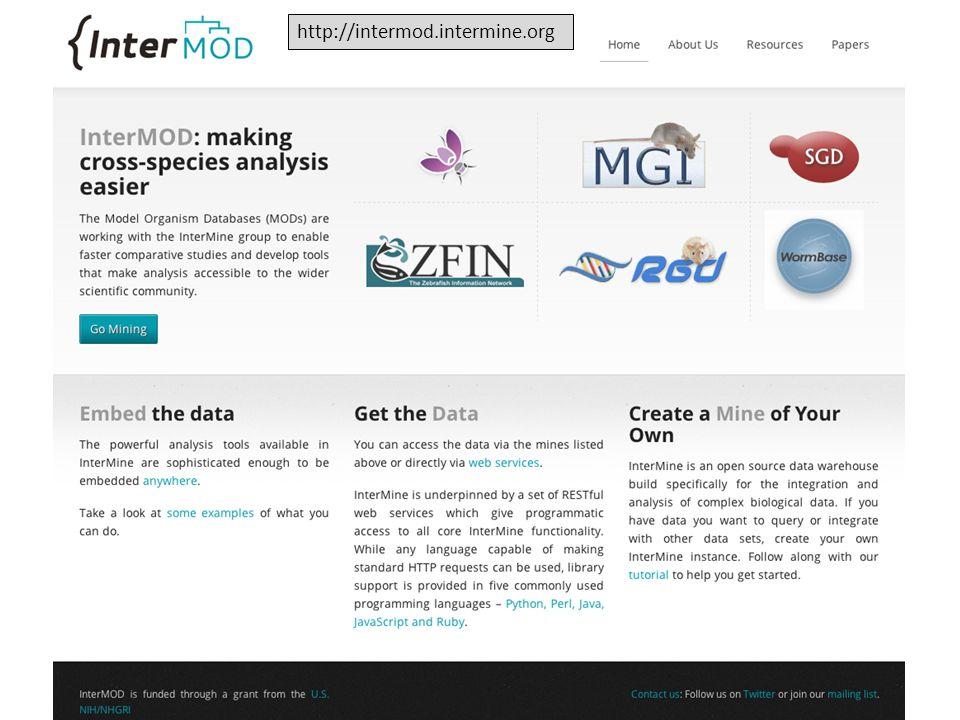 http://intermod.intermine.org