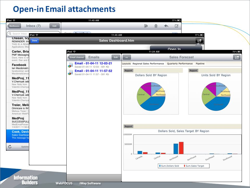 Open-in Email attachments