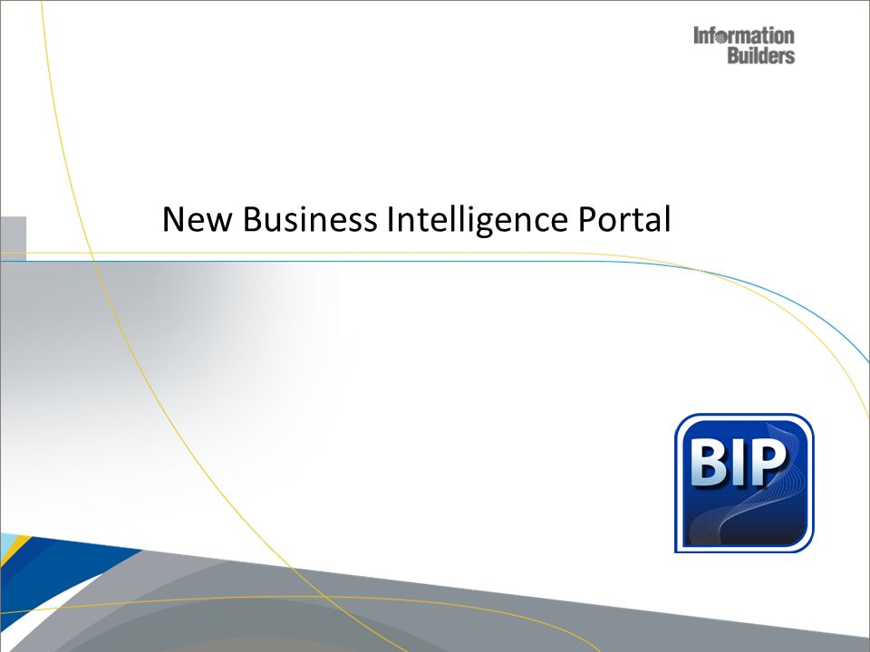 New Business Intelligence Portal Copyright 2007, Information Builders. Slide 65