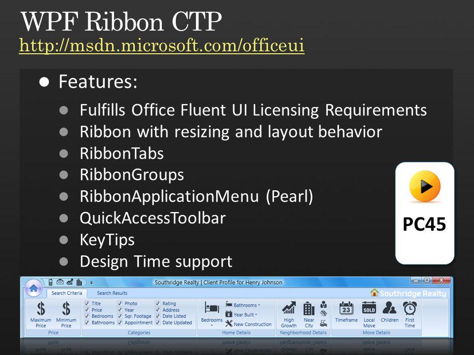 PC45 http://msdn.microsoft.com/officeui