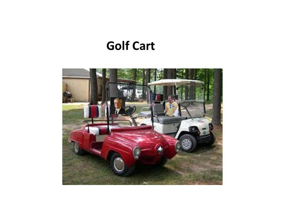 Golf Cart..Can you register?.