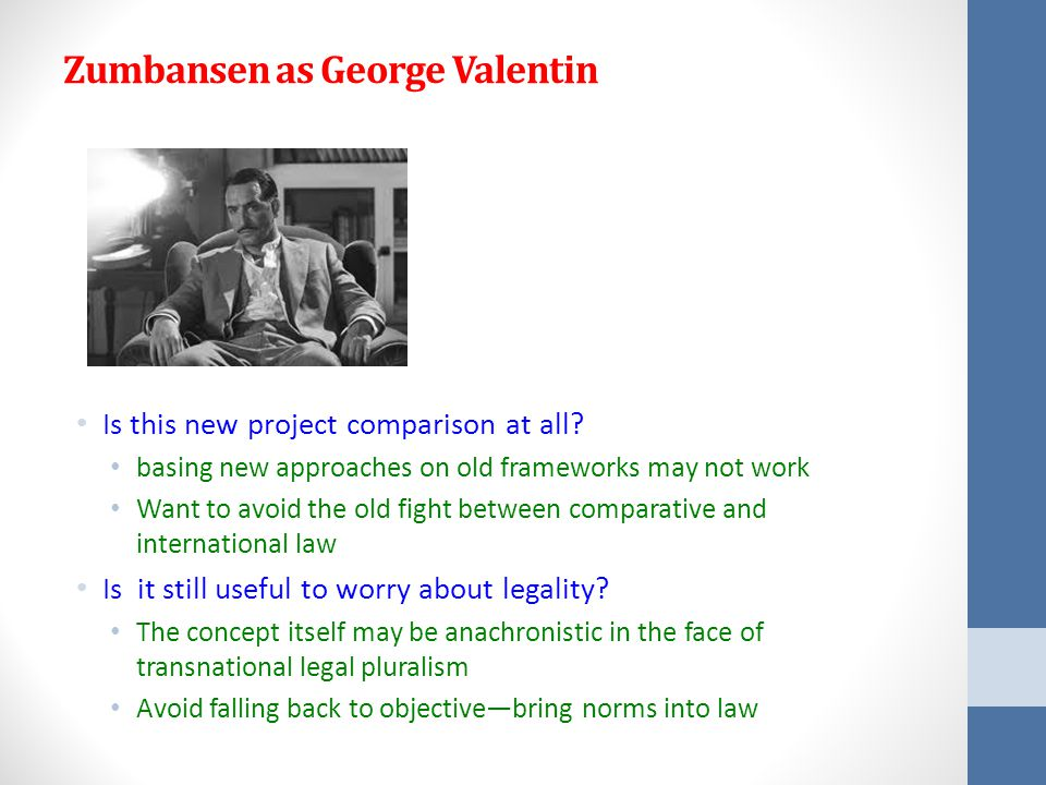 Zumbansen as George Valentin Is this new project comparison at all.