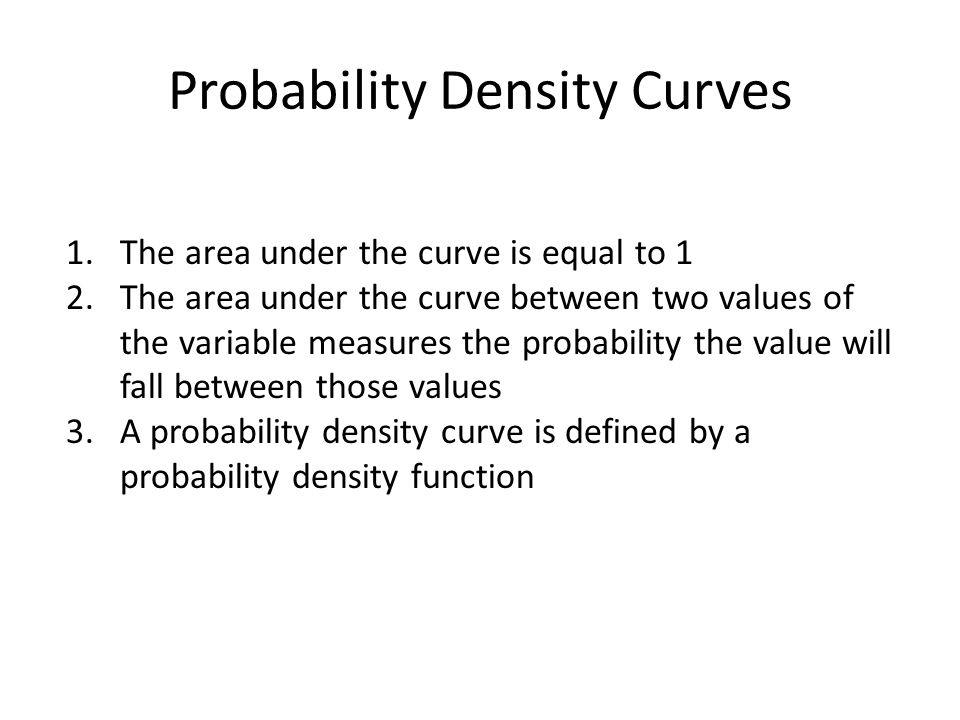 Importance of the Normal Distribution Many variables have a distribution similar to that of the normal distribution The means of samples are normally distributed (given samples of 30 or more)