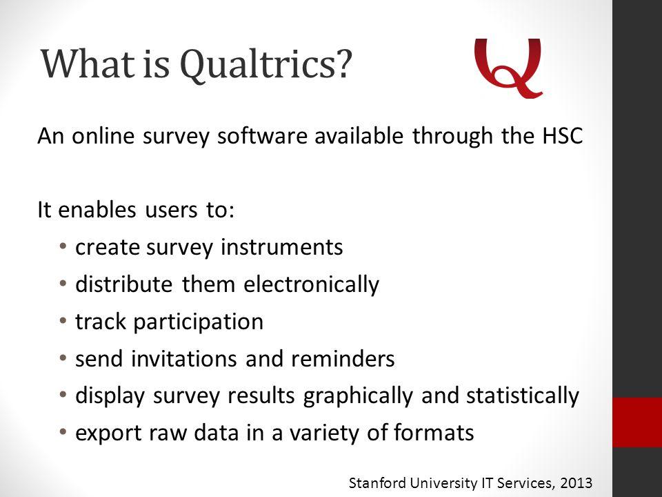 What is Qualtrics.