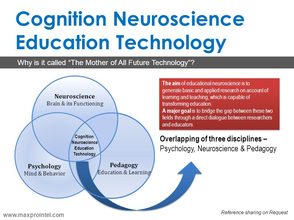 Cognition Neuroscience Education Technology Psychology Mind & Behavior Pedagogy Education & Learning Neuroscience Brain & its Functioning Cognition Ne