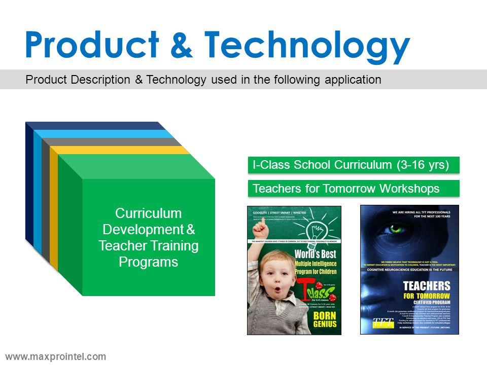 Product & Technology Product Description & Technology used in the following application Cognitive Ability Tests & Mapping Assessments for children Cur