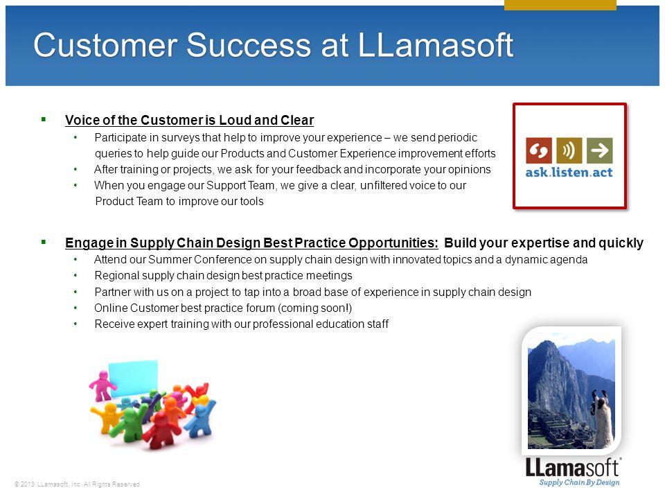 LLamasoft Solutions