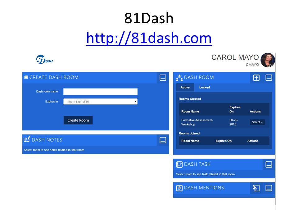 81Dash http://81dash.com http://81dash.com