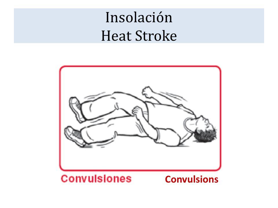 Insolación Heat Stroke Convulsions
