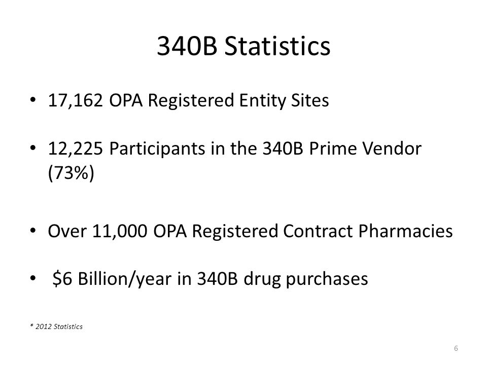 Tracking Requirements Hospital must be able to prove that the drugs purchased on the 340B account were administered to an outpatient in an eligible point of service Patient level detail Identify qualified patients Patient Type, Status, and/or Point of Service The 340B program must be implemented in all qualified outpatient points of service Both Mixed & Clean areas Two options: Separate 340B Inventory Retrospective Purchasing 17