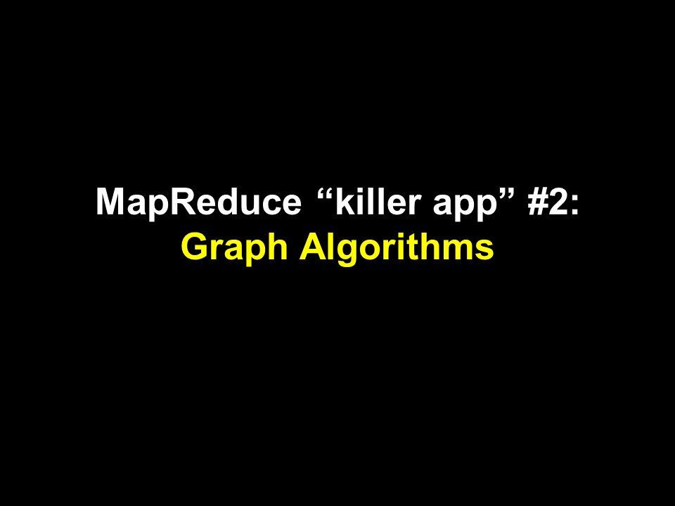 MapReduce killer app #2: Graph Algorithms