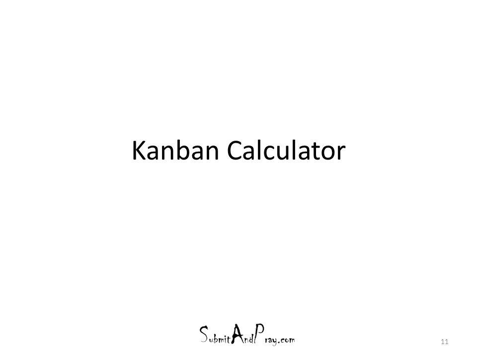 Kanban Calculator 11
