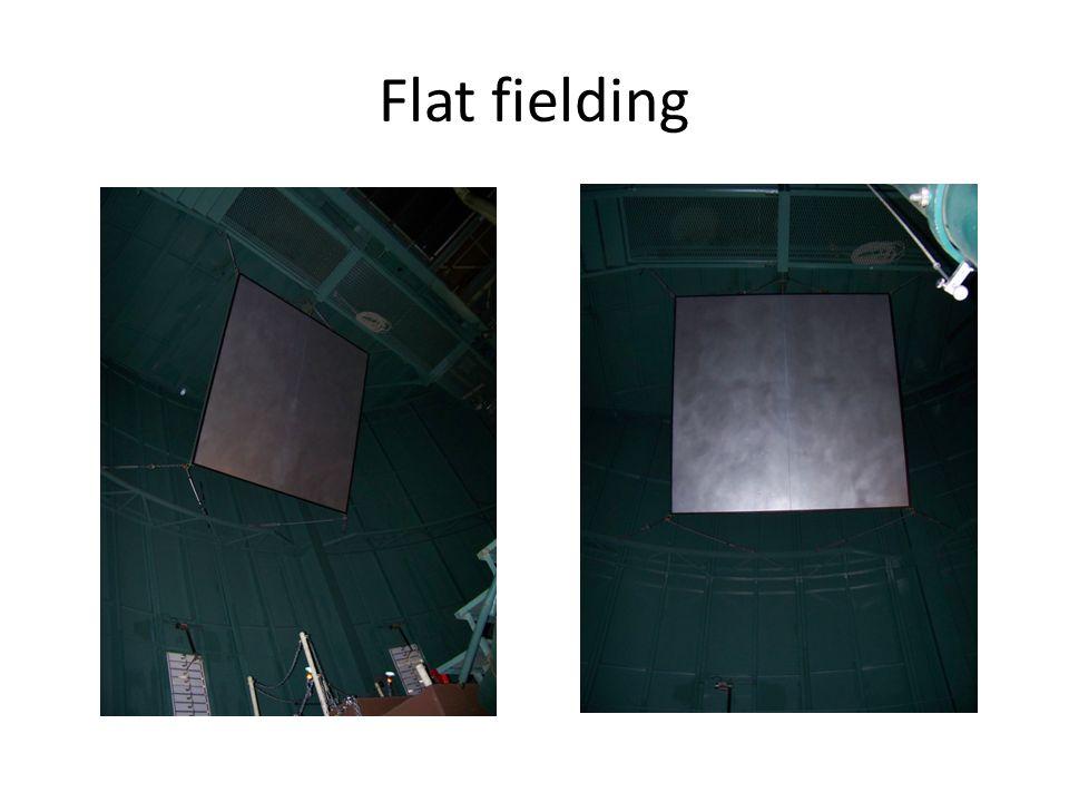 Flat fielding