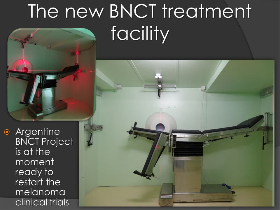 The new BNCT treatment facility  Argentine BNCT Project is at the moment ready to restart the melanoma clinical trials