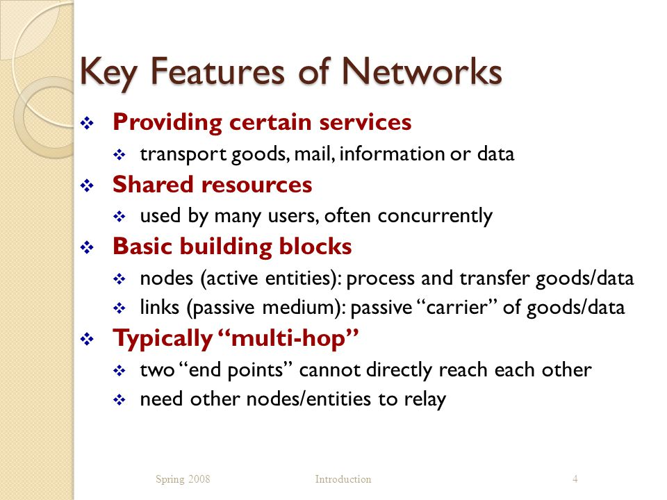 Data/Computer Networks  Delivery of information ( data ) among computers of all kinds  servers, desktops, laptop, PDAs, cell phones,......