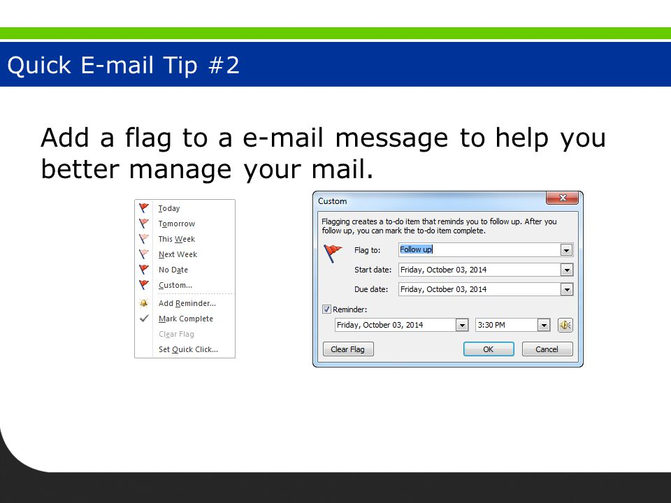 Junk E-Mail Tip #3 Add senders to the Blocked Senders list to reduce unwanted e-mail.