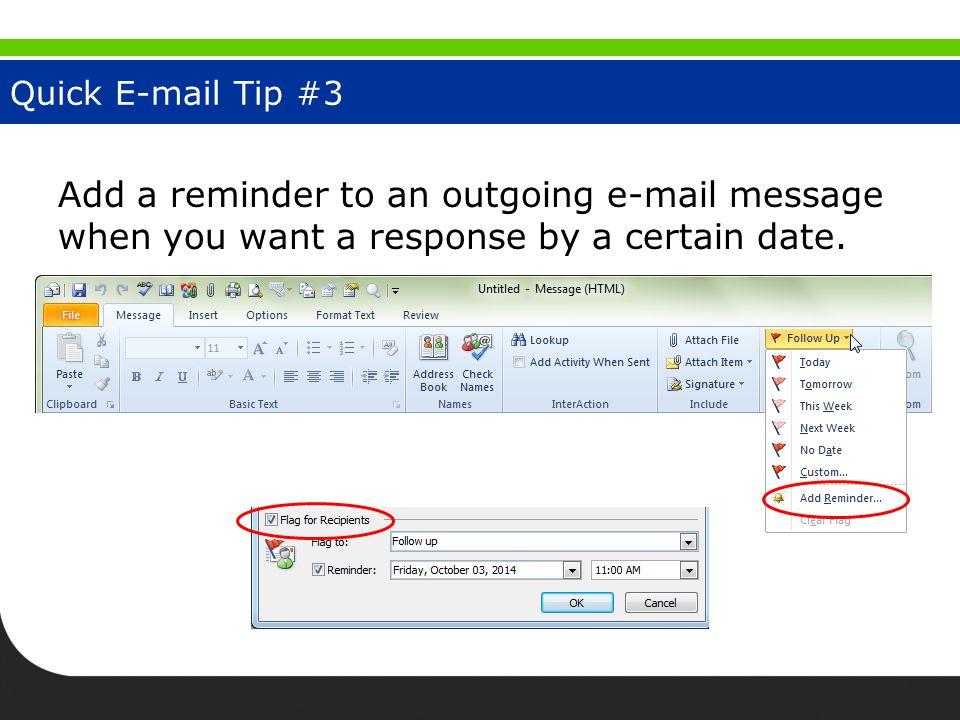 Junk E-Mail Tip #4
