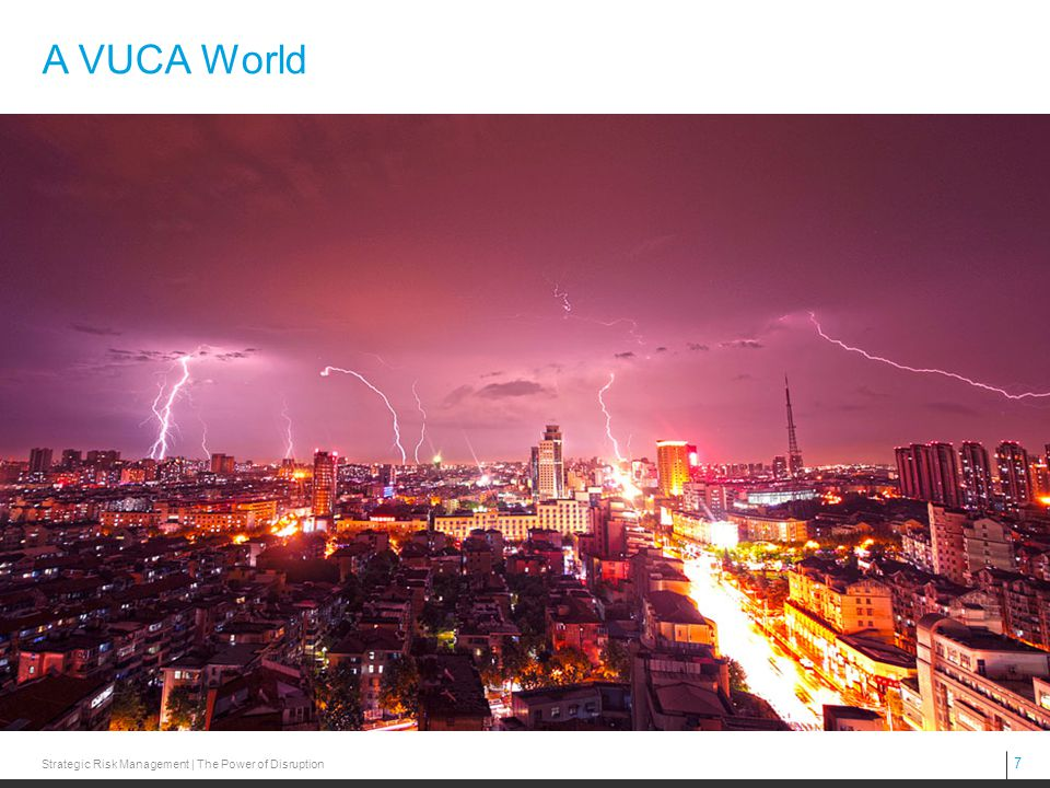 7 Strategic Risk Management | The Power of Disruption A VUCA World