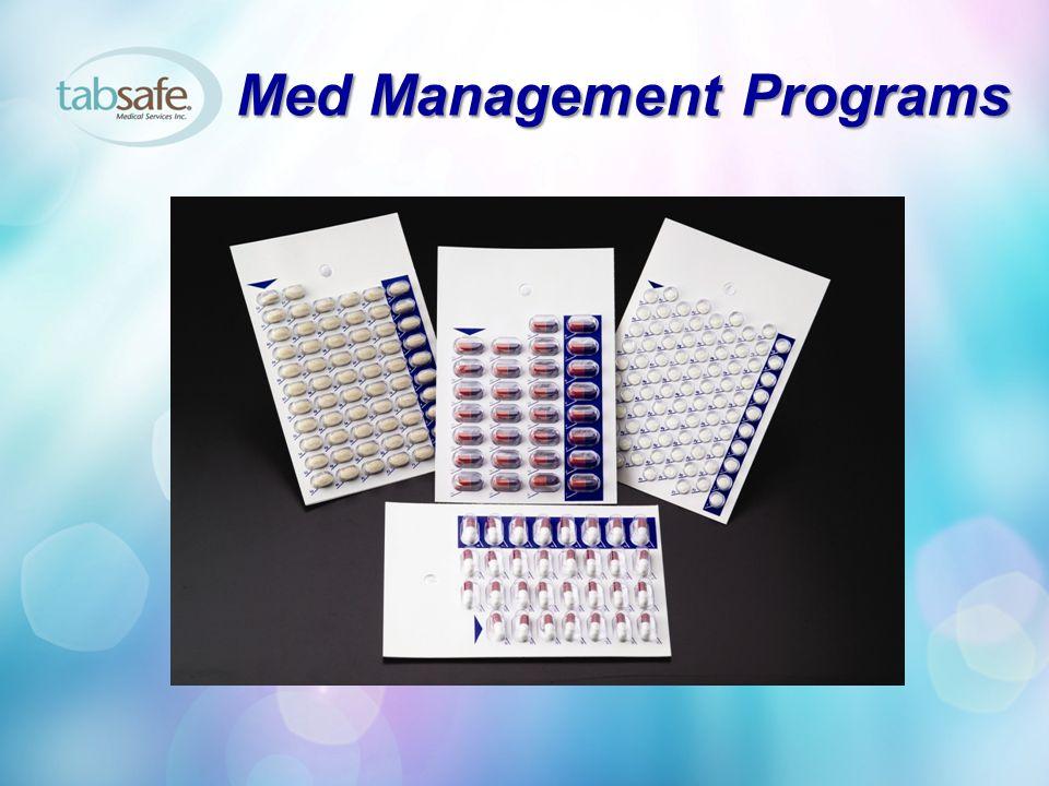 Med Management Programs