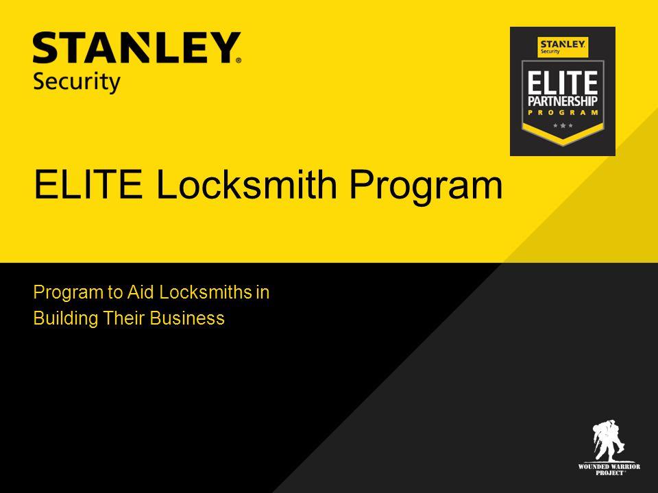 ELITE Locksmith Program Program to Aid Locksmiths in Building Their Business