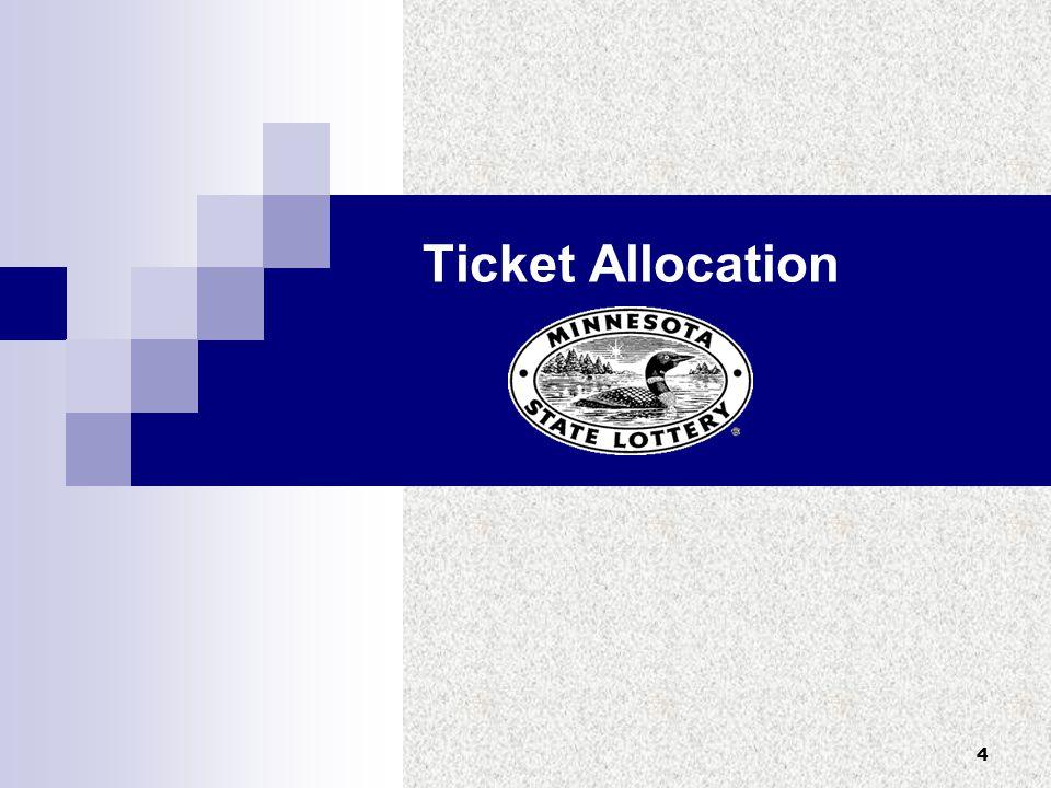 4 Ticket Allocation