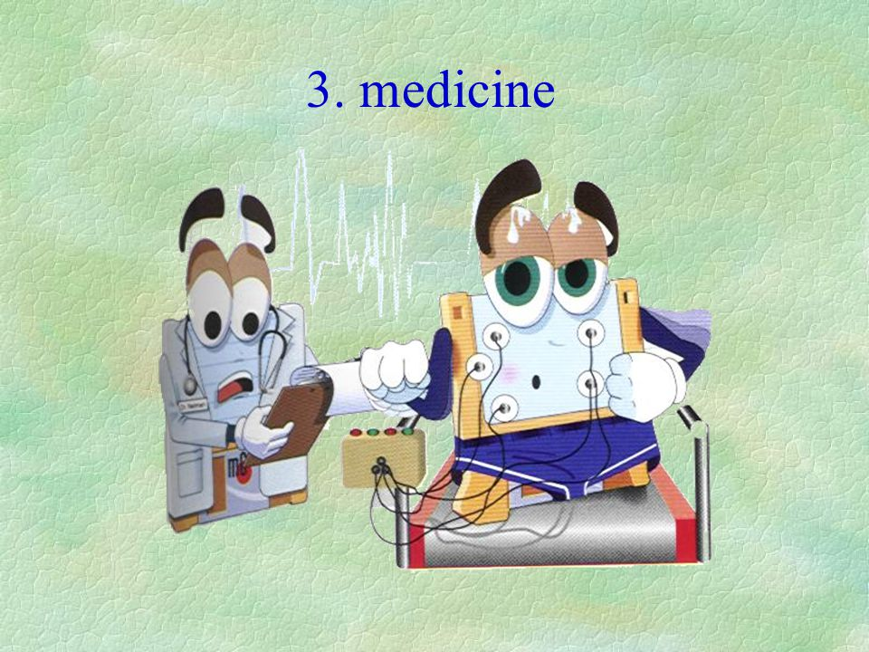 3. medicine