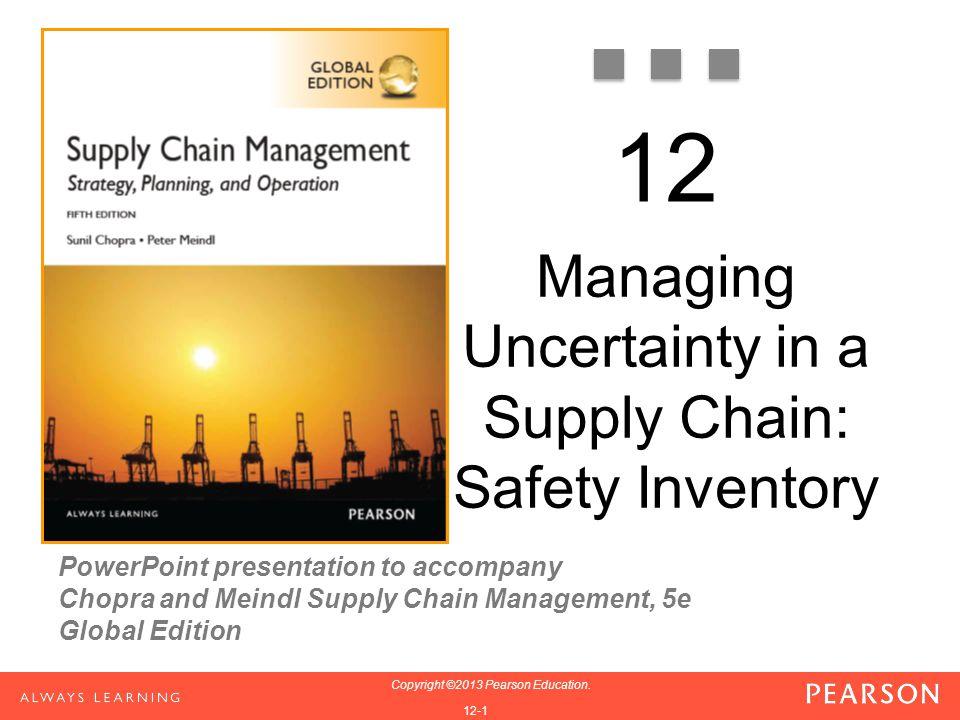 12-42 Copyright ©2013 Pearson Education.
