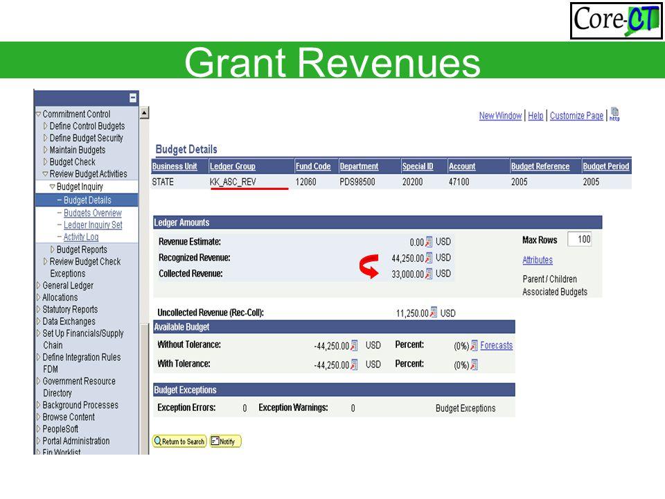 Grant Revenues