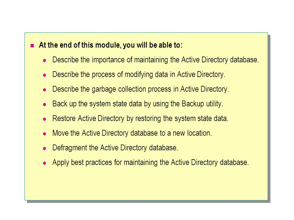When you mark an object as authoritative, it has the highest version number in Active Directory.