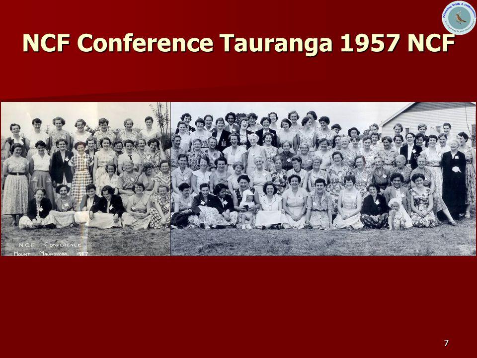 7 NCF Conference Tauranga 1957 NCF